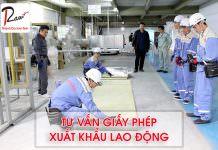 Tư vấn giấy phép xuất khẩu lao động