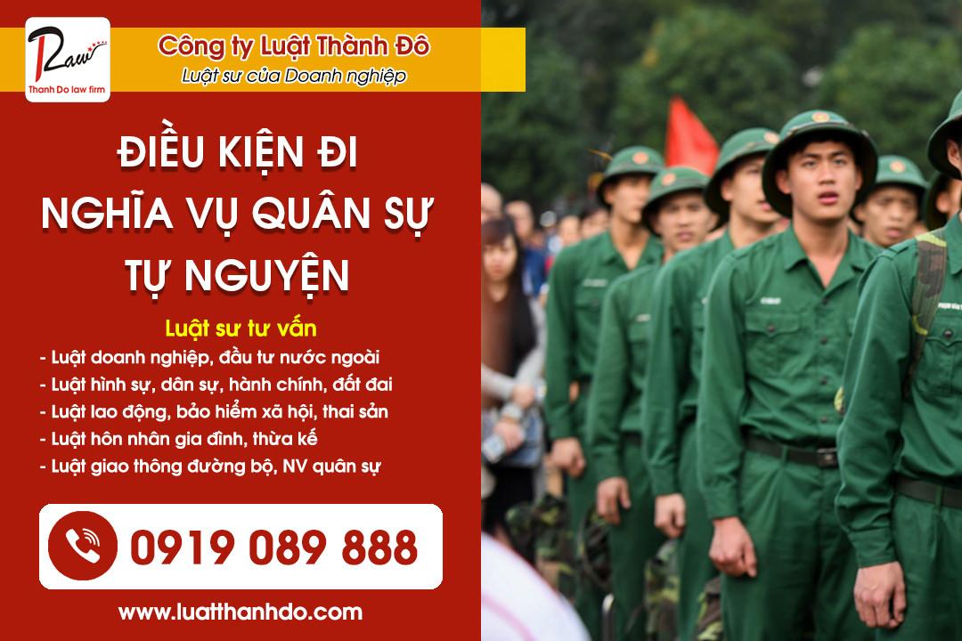 Muốn đi Nghĩa vụ quân sự tự nguyện thì phải làm sao?