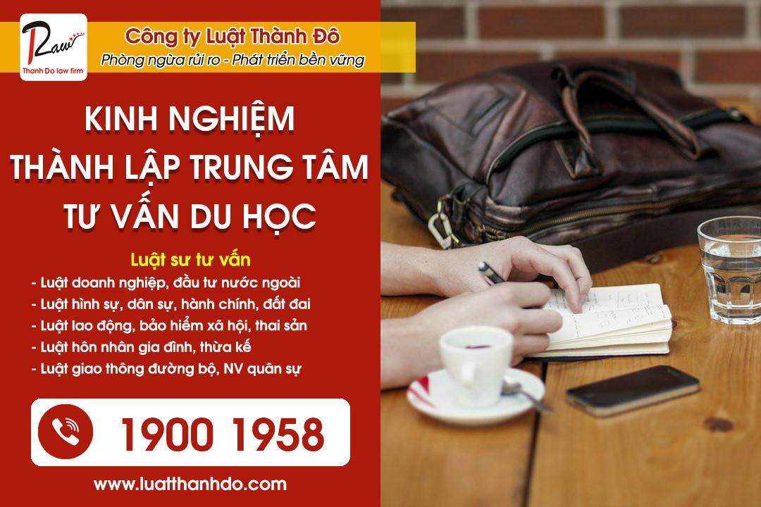 Kinh nghiệm thành lập trung tâm tư vấn du học tại Bắc Ninh