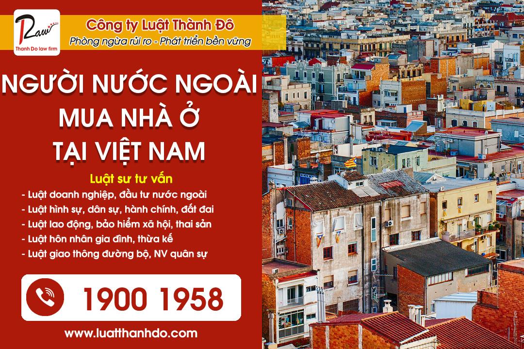 người nước ngoài mua nhà ở tại Việt Nam