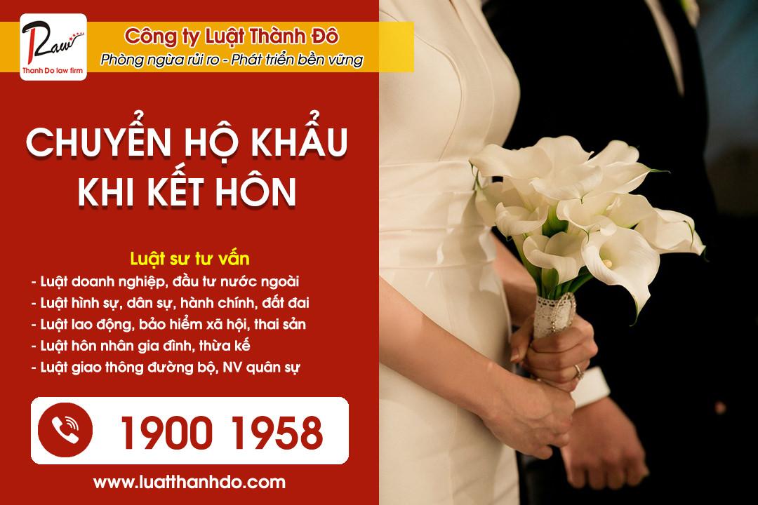 Hướng dẫn chuyển hộ khẩu về nhà chồng khi kết hôn