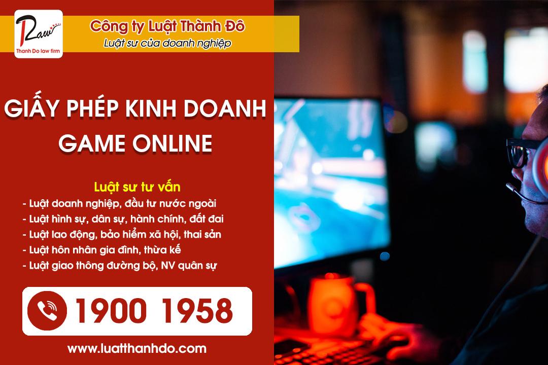 Giấy phép kinh doanh Game Online