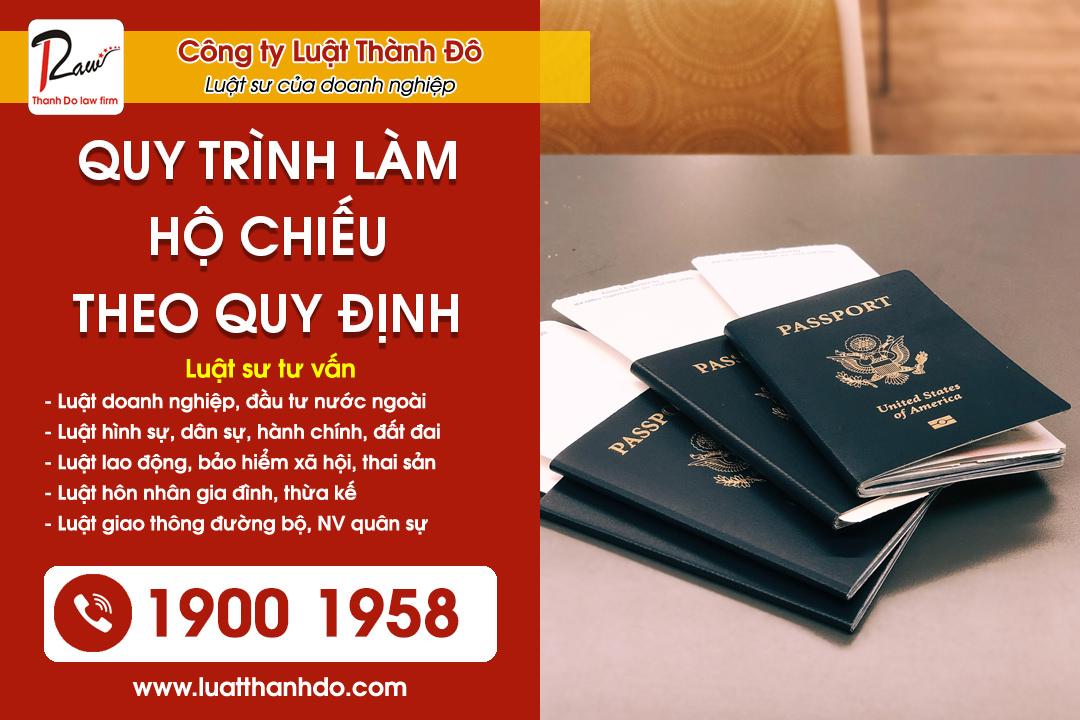 Quy trình làm hộ chiếu theo quy định pháp luật Việt Nam