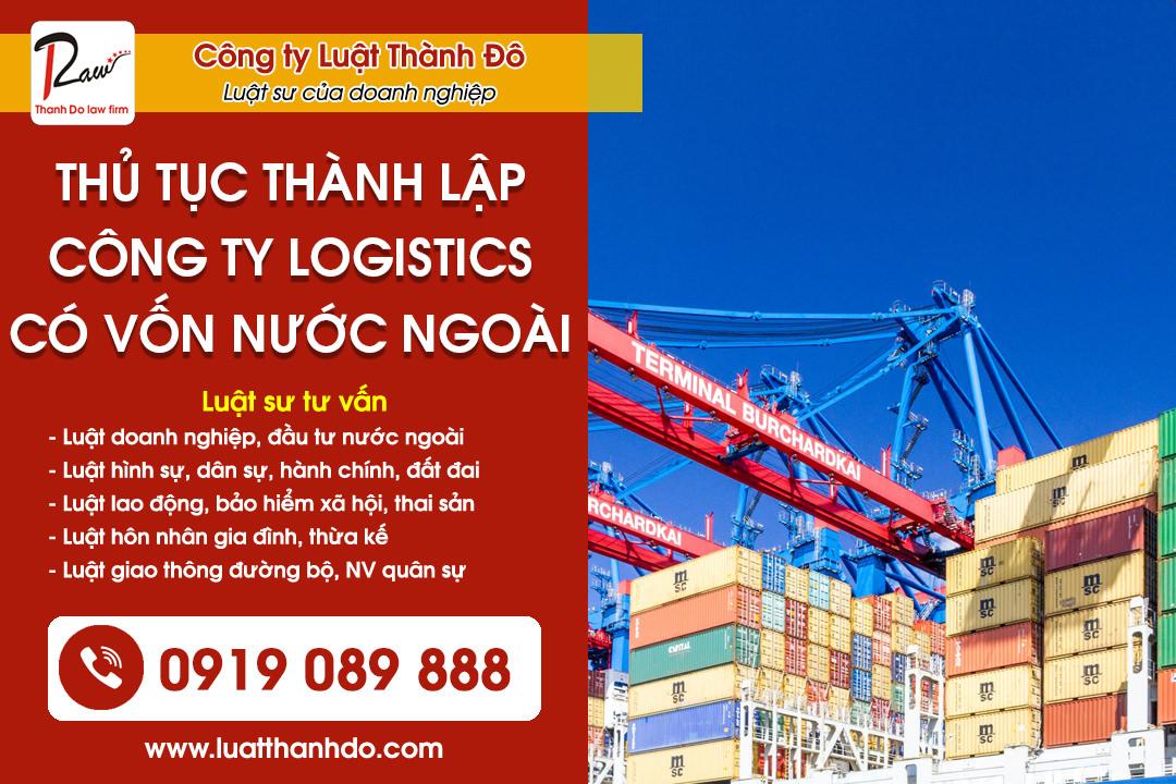 Thành lập công ty logistics có vốn nước ngoài tại Việt Nam