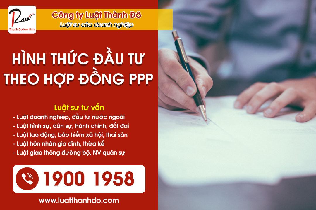 Hình thức đầu tư theo hợp đồng PPP