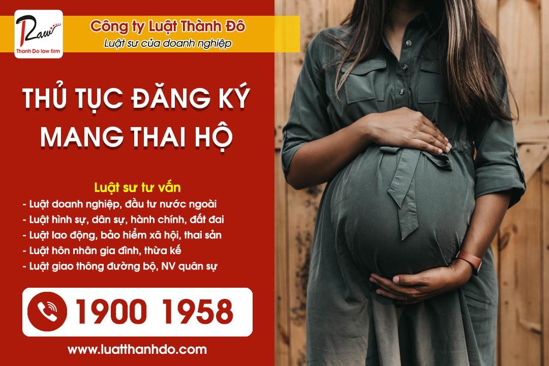 Thủ tục đăng ký mang thai hộ