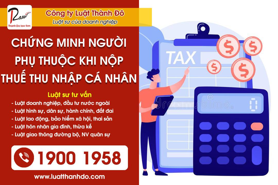 Hồ sơ chứng minh người phụ thuộc khi nộp thuế thu nhập cá nhân