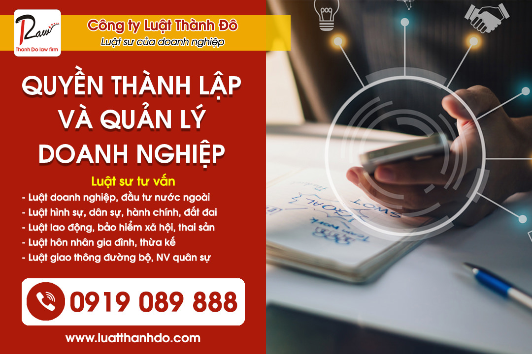 Quyền thành lập và quản lý doanh nghiệp tại Việt Nam