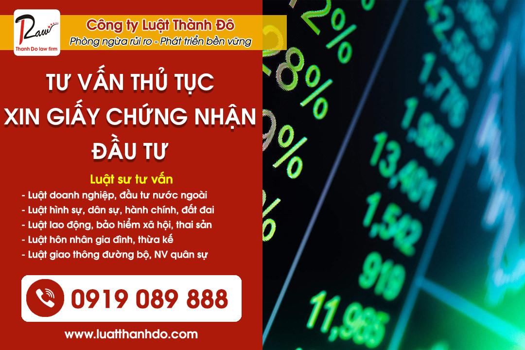 Hotline Luật sư tư vấn đầu tư: 0919.089.888