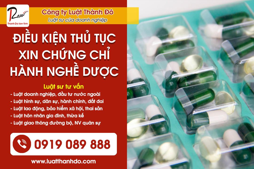 Xin cấp chứng chỉ hành nghề dược (ảnh minh họa)