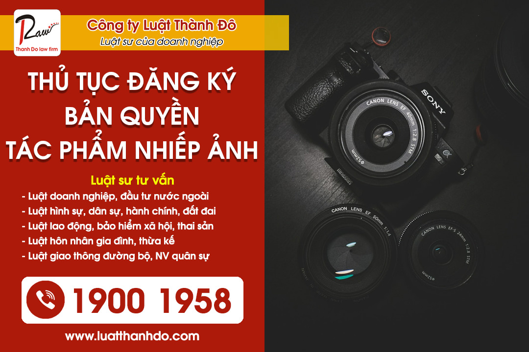 Thủ tục đăng ký bản quyền tác phẩm nhiếp ảnh