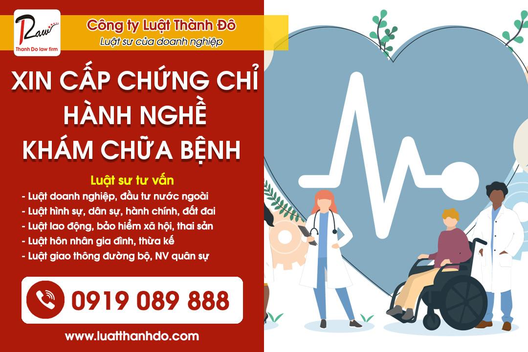 Thủ tục cấp chứng chỉ hành nghề khám, chữa bệnh đối với người Việt Nam