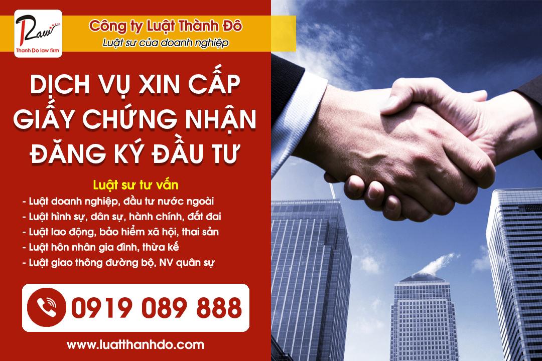 Dịch vụ xin cấp giấy chứng nhận đăng ký đầu tư từ nước ngoài vào Việt Nam